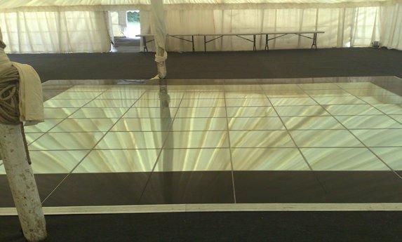 Mirrored Dance Floor Hire