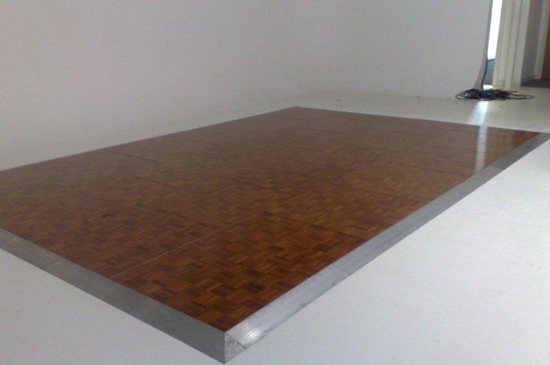 Wooden Effect Wood Effect Dance Floor Hire